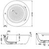 Bồn tắm ngọc trai TOTO PPY1724HPWE#P/NTP003E