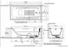 Bồn tắm TOTOPAY1730V/TBVF411