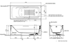 Bồn tắm TOTOPAY1735VC/TBVF411
