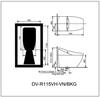Bồn cầu cảm ứng DV-R115VH-VN/BKG