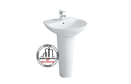 Chậu rửa lavabo INAX L-285V & L-288VD chân dài treo tường
