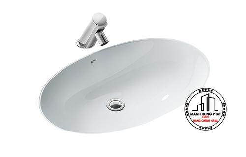 Chậu rửa lavabo INAX L-2216V âm bàn