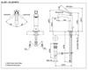 Vòi chậu lavabo TOTO DL367-2#PG nóng lạnh cổ cao