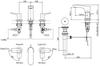 Vòi chậu lavabo TOTO TLG01201B nóng lạnh