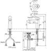 Vòi chậu lavabo TOTO TLG01301V nóng lạnh