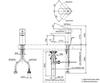 Vòi chậu lavabo TOTO TLG02301V nóng lạnh