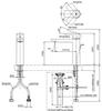 Vòi chậu lavabo TOTO TLG02304V nóng lạnh