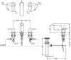 Vòi chậu lavabo TOTO TLG04201B nóng lạnh