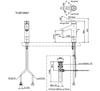 Vòi chậu lavabo TOTO TLS01304V nóng lạnh cổ cao
