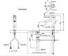 Vòi chậu lavabo TOTO TLS01307V nóng lạnh cổ cao