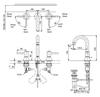 Vòi chậu lavabo TOTO TLS02201B nóng lạnh