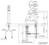 Vòi chậu lavabo TOTO TLS02305V nóng lạnh