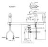 Vòi chậu lavabo TOTO TLS03301V nóng lạnh