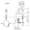 Vòi chậu lavabo TOTO TLS03303V nóng lạnh cổ cao