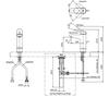 Vòi chậu lavabo TOTO TLS04306V nóng lạnh cổ cao