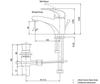 Vòi chậu lavabo TS561A TOTO nóng lạnh