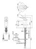 Vòi chậu lavabo TOTOTTLR302F-1N nóng lạnh