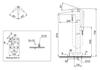 Vòi xả đặt sàn TOTO DM324CF kèm sen tắm