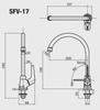 Vòi bếp INAX SFV-17 lạnh