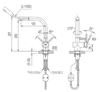 Vòi bếp INAX SFV-1013SX nóng lạnh