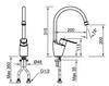 Vòi bếp INAX SFV-2011S nóng lạnh