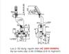 Vòi cảm ứng INAX AMV-90(220V) lạnh dùng điện