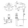 Vòi chậu lavabo INAX LFV-1102S-1 nóng lạnh