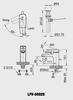 Vòi chậu lavabo INAX LFV-5002S nóng lạnh
