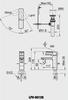 Vòi chậu lavabo INAX LFV-5012S nóng lạnh
