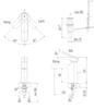 Vòi chậu lavabo INAX LFV-6002S nóng lạnh