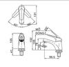 Vòi lavaboINAXLFV-20S nước lạnh 1 lỗ (FC)