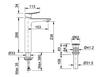 Vòi chậu lavabo INAX LFV-502SH đặt bàn cổ cao