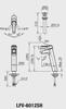 Vòi chậu lavabo INAX LFV-6012SH đặt bàn cổ cao