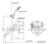 Bộ sen tắm TOTO TBG02302V/TBW03002B nóng lạnh