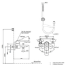 Bộ sen tắm TOTO TBG02302V/TBW02017A nóng lạnh