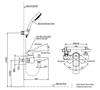 Bộ sen tắm TOTO TBG02302V/TBW01010A nóng lạnh