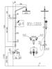 Sen tắm cây INAX BFV-1305S nóng lạnh