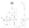 Sen tắm nhiệt đô INAX BFV-5103T-5C