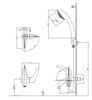 Sen tắm INAX BFV-17-4Clạnh