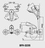 Bộsen tắm Inax BFV-223Snóng lạnh