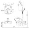 Bộsen tắm INAX BFV-3003S-3Cnóng lạnh