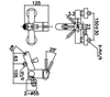 Bộsen tắm INAX BFV-8000S-1Cnóng lạnh
