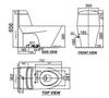 Bồn cầu 1 khốiAmerican Standard VF-2011 nắp đóng êm