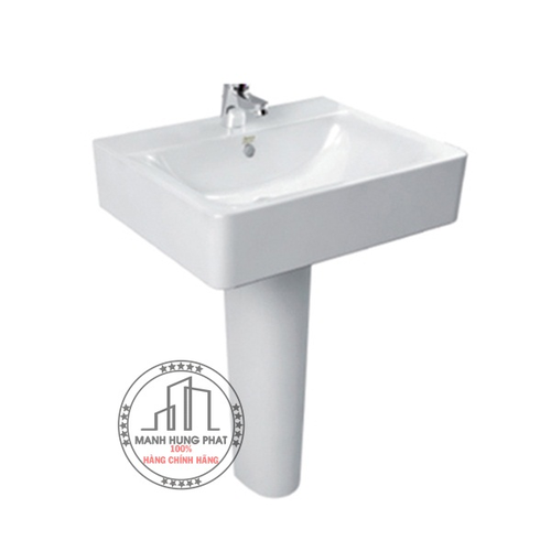 Chậu lavabo American standard WP-F550/0742-WT chân dài