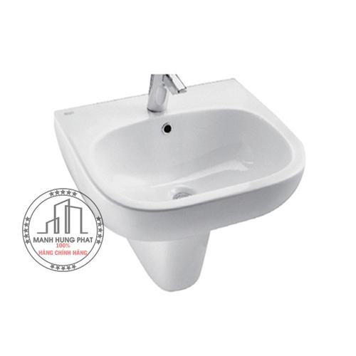 Chậu rửa lavabo American Standard 0955-WT/0755-WTchân ngắn treo tường