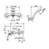 Bộ sen tắm American Standard WF-6511 nóng lạnh