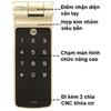 Khóa điện tử Yale YDD424 - Vân tay, mã số, chìa khoá, remote mở rộng