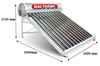 Máy năng lượng mặt trời Đại ThànhDT180L-58V 160Lít VigoSUS 316