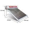 Máy năng lượng mặt trời Đại ThànhDT215L-58V 215LítVigoSUS 316