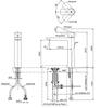 Vòi chậu lavabo TOTO TLG02307V GR nóng lạnh